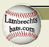 Lambrecht's Personalized Wood Baseball Bats - Wood baseball bats made from Minnesota grown white ash or hard maple!